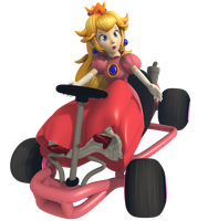 Princess Peach - Mario Kart Commemorative Pack by Vinfreild