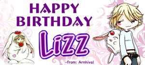 Happy Birthday Lizz by arnhival