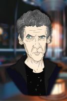 12th Doctor (Peter Capaldi) Caricature by LTRees