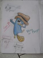 Perry -ColorPencil- by Torosiken