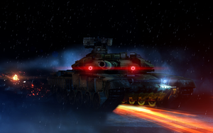 BF3 T-90a by LordofCombine