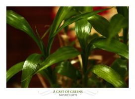 A cast of Greens by lightronin