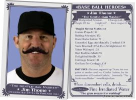 Old Time Thome Card by thecip