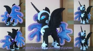 Nightmare Moon plush by agatrix