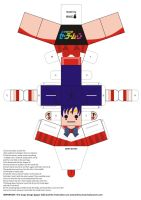 Sailor Mars Paper Doll by Willianac