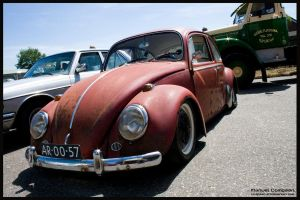 1966 Volkswagen Beetle 1300 by compaan-art
