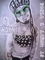Drawing Lil Wayne... by MontyKVirge