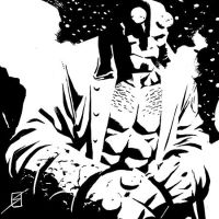 Hellboy 6x6 by ronsalas
