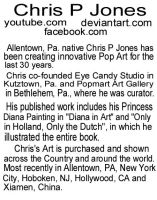 Chris P Jones Bio by chrispjones