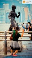 Bruce Lee, Avenue of Stars in Hong Kong by localiiz