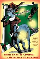 Bards Comic: Christmas is coming! by DragonPress