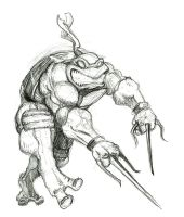 raph sketch by mastaczajnik