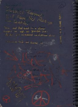 My notebook - Back Cover by cobain1337