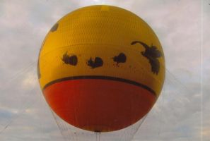 Characters in Flight Balloon by sideshowbobfanatic