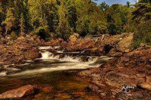 HDR Water Flow 5 by Nebey