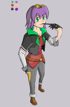 My Unnamed Character...again .-. by TioTonyRedgrave
