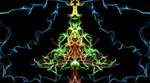 A Christmas Tree by MasterTeska