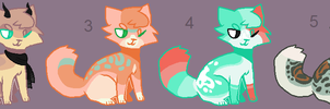 Adoptables 59 [AUCTION ENDED] by hinanamis