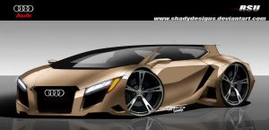 Audi RSU Concept Final Render by ShadyDesigns
