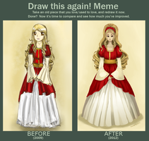 draw this again meme by Pepperina