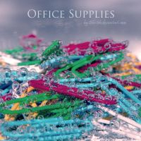 Office Supplies by blu-ish
