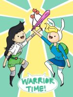 Bravest Warriors x Adventure Time by j-eli-bean
