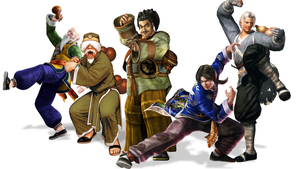 Video Game Archetypes: Drunken Masters by The4thSnake