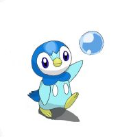Piplup's Bubble by ECrystalica