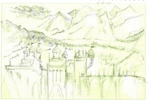 old castle by concho