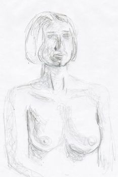 Life drawing 2011 1D by myp55