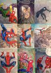 Spider-Man sketch cards by NJValente
