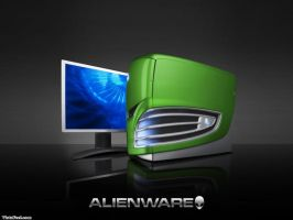 Alienware Computer by mtpocketz