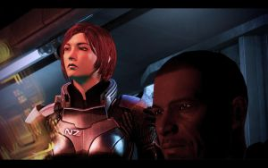 ME3 LDLC - Ellis Shepard and Cortez 2 by chicksaw2002