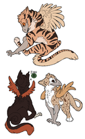 Gryphon Adopts by Sikey101