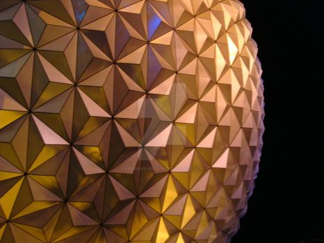 A Close Up of Spaceship Earth by uaigneas-nicolin