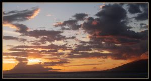 Sunset on Lanai by stwin