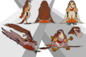 Rheah Hawk Sheet by FablePaint