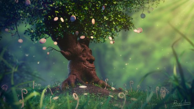Candy Tree by RicoCilliers