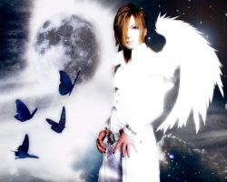 Uruha - Moon - by InTheMiddleOfChaos