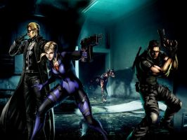 Resident evil wallpaper 4 by ethaclane