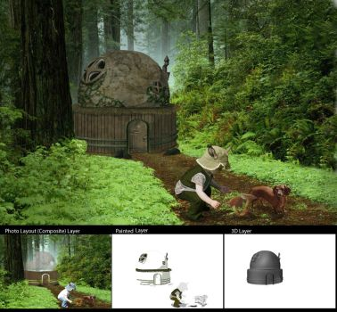 Forest Home by dagger-fighter