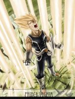 +Vegeta Redesign Concept+ by FXMesher