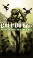 CoD4 X Valkyria Chronicles by Skunk-Works
