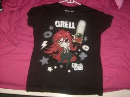 Grell Sutcliff Shirt by InSaNe-AsYlUmGiRl14
