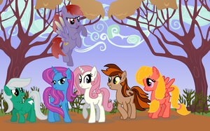 My Mane Six OCs by pinay4life001