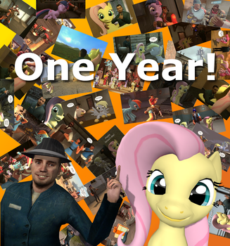 One year on DeviantArt! by WilliamCosta303