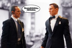 Agent Coulson Meets Agent 007 by ZaEmpera
