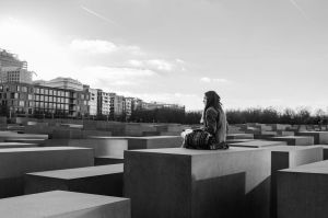 Holocaust Monument by JoeyFeikens