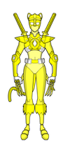 Hypothetical MMPR Remake-Yellow Ranger by TeiOuja