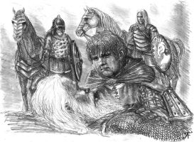 Merry And Theoden by TolmanCotton